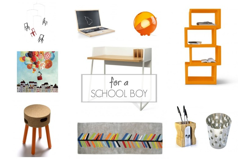 A learning space for a school boy LoveTheSign