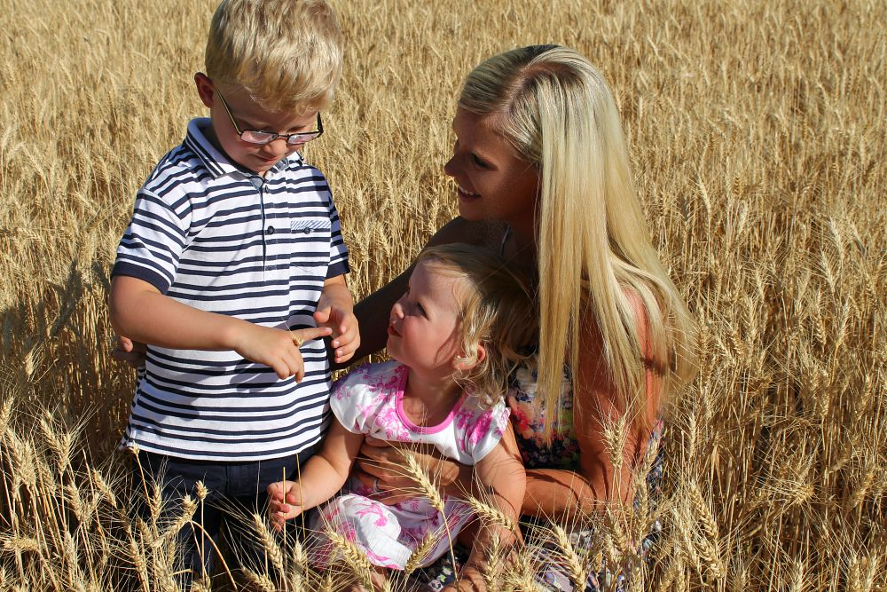 Me and Mine August a monthly family portrait project blog hop