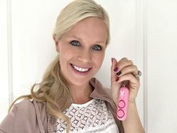 Empowerment from the inside out SABRE Personal Alarm Key Ring and National Breast Cancer Foundation
