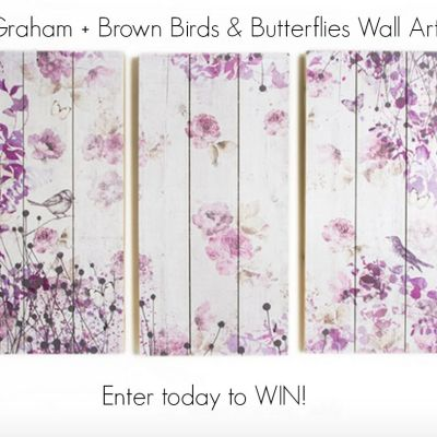 Tuesday's Blog Birthday Giveaway: Graham + Brown