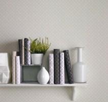 Graham and Brown wallpaper week Grey Damask Wallpaper calm feeling