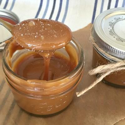 Salted Caramel Sauce // Recipe