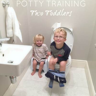Potty training two toddlers