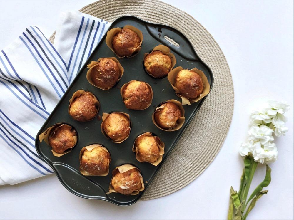 Sweet Poppyseed Mini Muffins Recipe