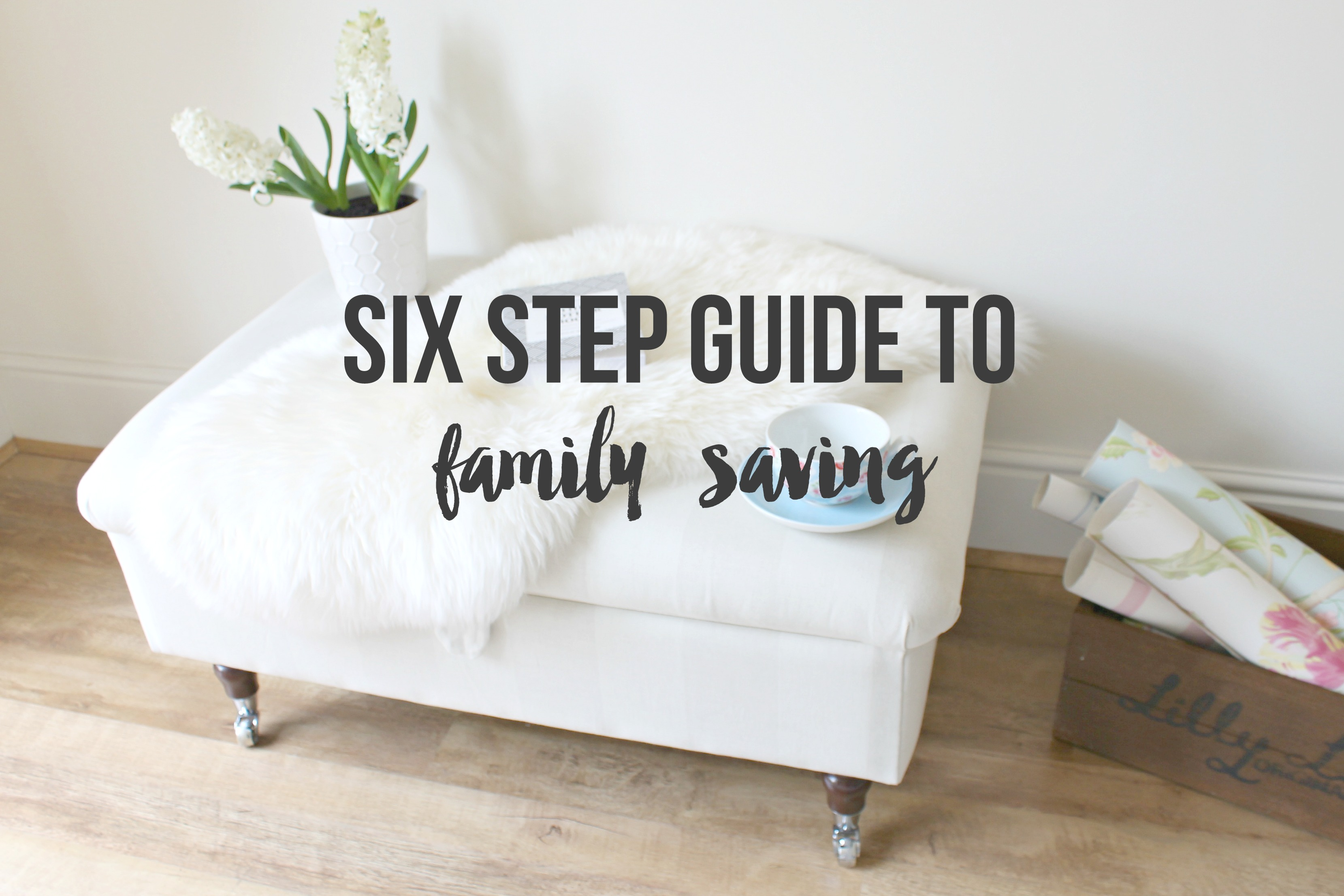 Six Step Guide to family saving