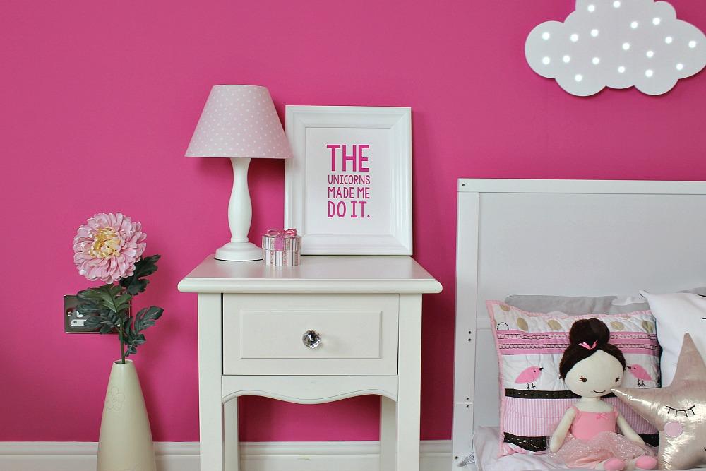 Silentnight Room for a little one mini makeover