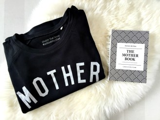Selfish Mother scoop neck sweater Mother's Day