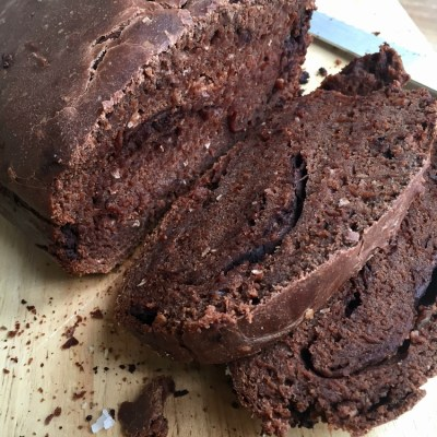 Dark Chocolate Coconut Bread for Real Bread Week