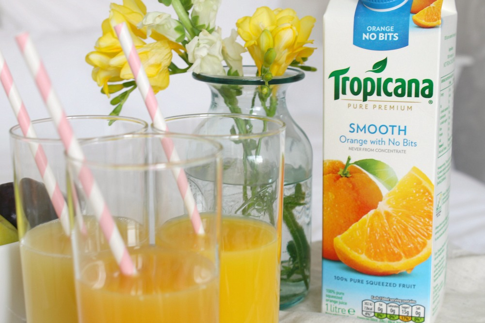changing my morning breakfast routine with Tropicana