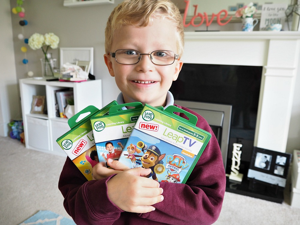 LeapFrog's LeapTV new educational games for kids