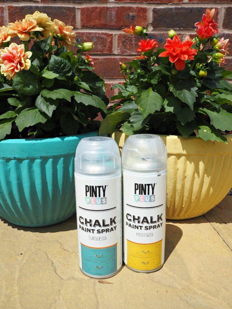PintyPlus Chalk Spray Paint Styling the Seasons