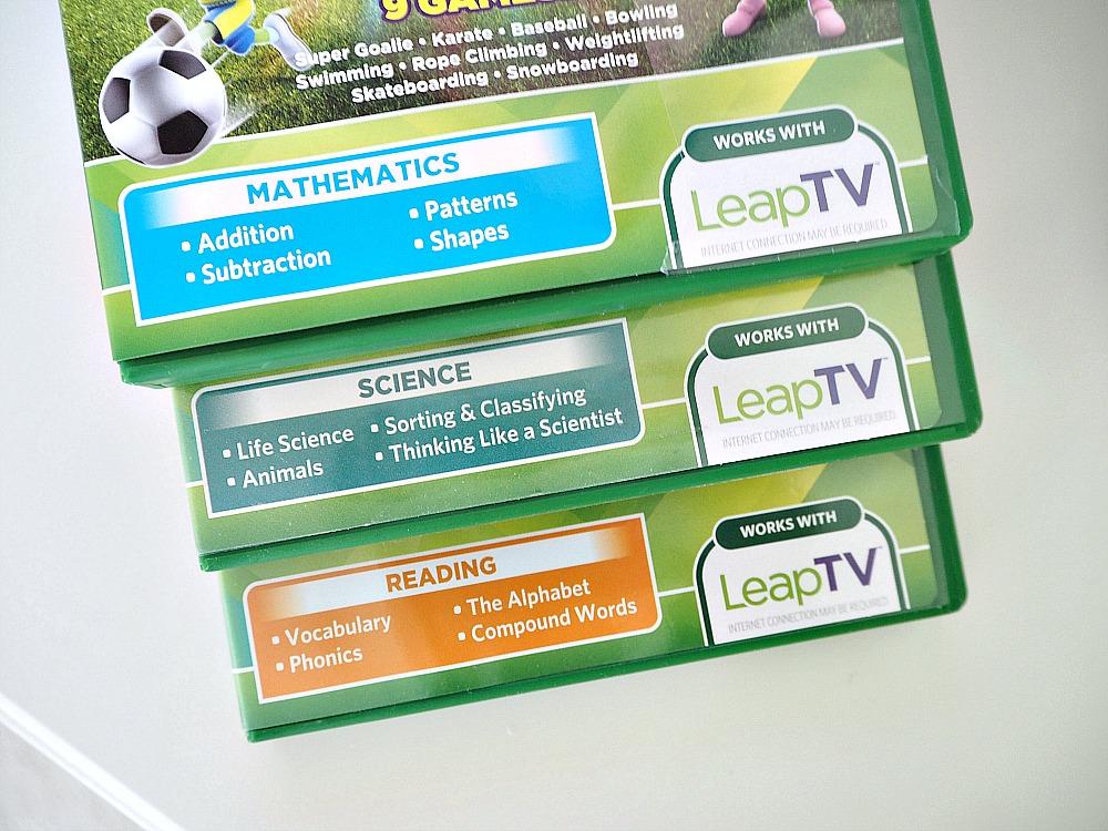 LeapFrog's LeapTV new educational games for kids