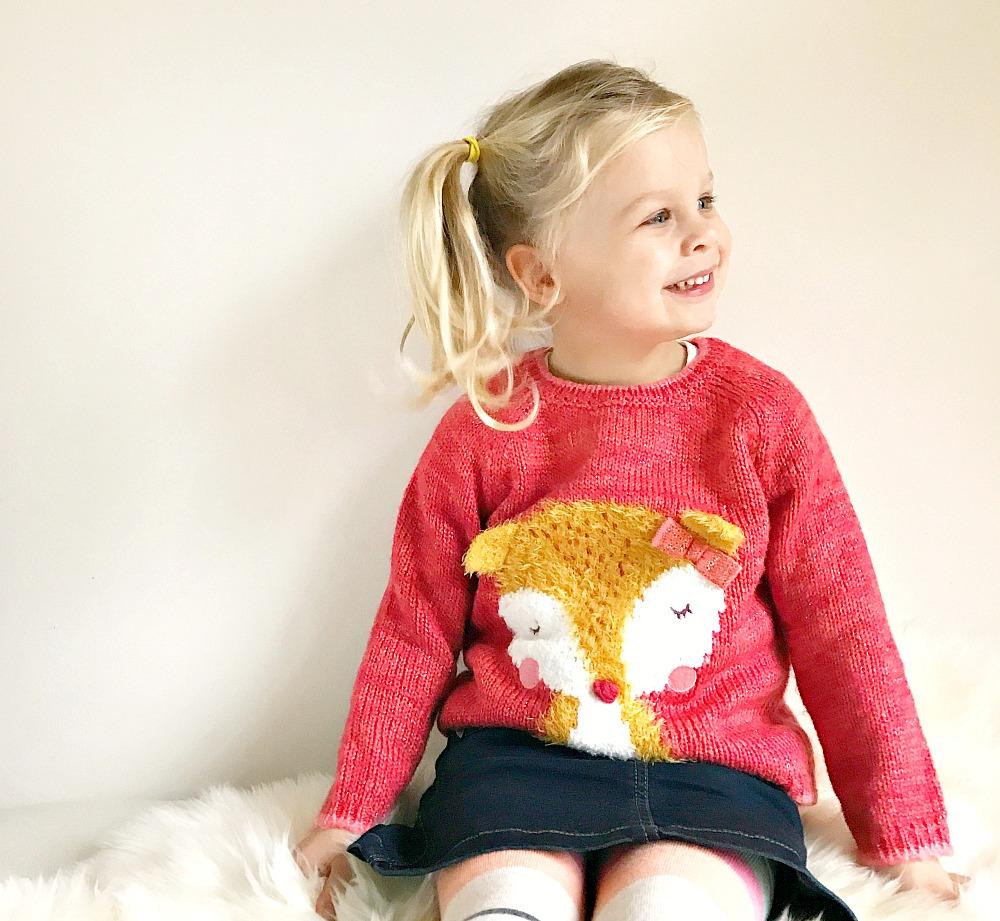 Fox sweater Asda £6 toddler #littleloves