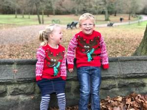 Siblings Seeing Santa December 2016 the siblings project