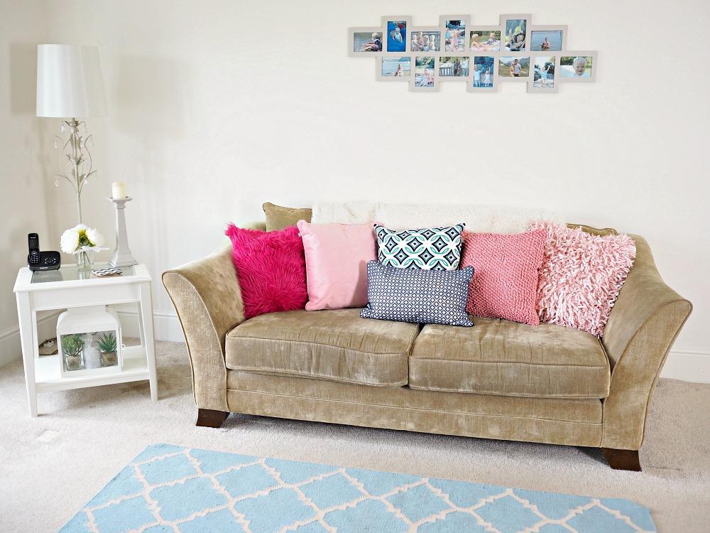 Think Pink with Dutch Decor Cushions Wayfair home inspiration