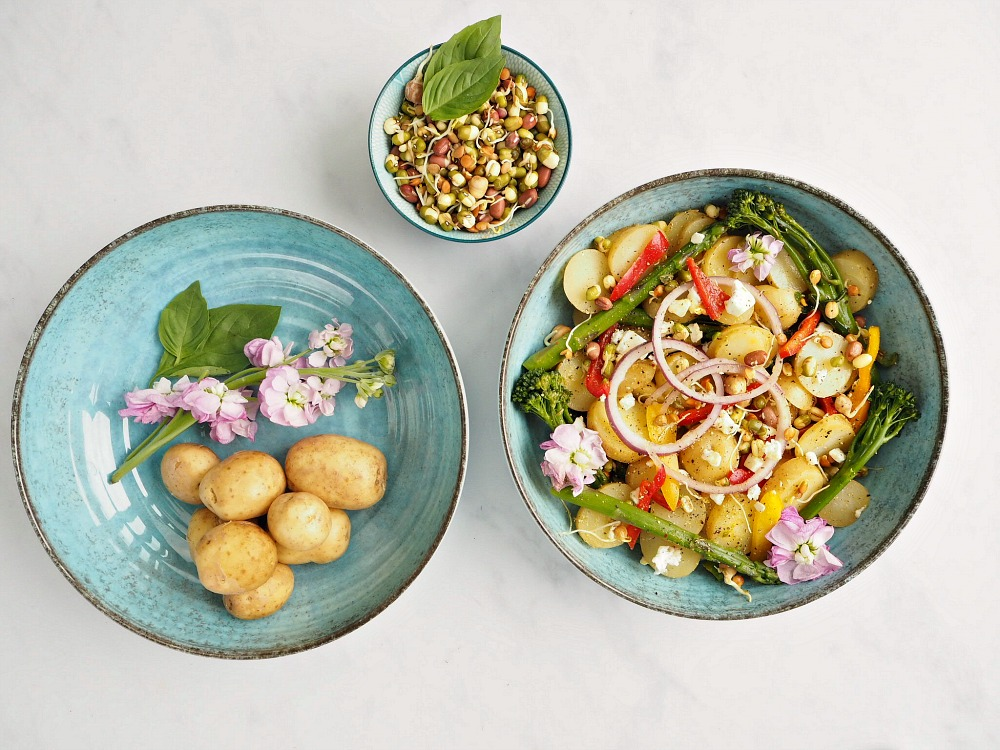 Vegetarian Mango, Lime and Chilli Potatoes More than a bit on the side recipe