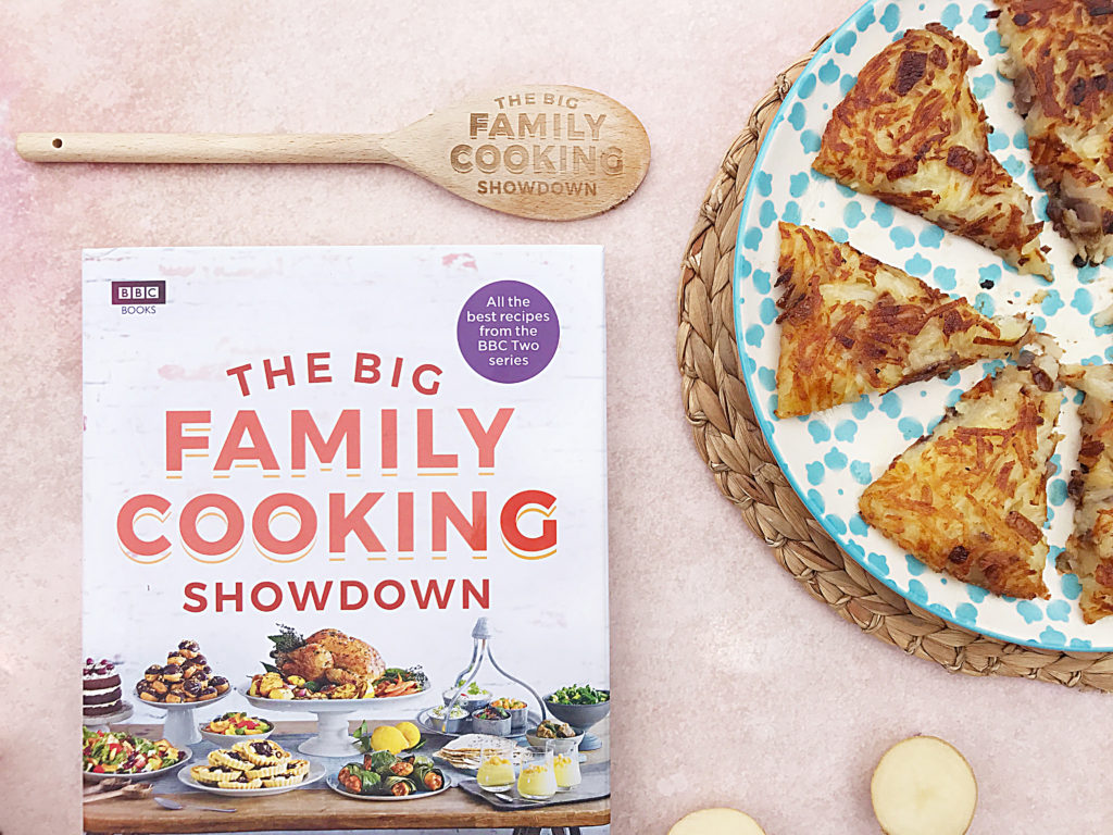 The Big Family Cooking Showdown Cookbook giveaway BBC TWO series