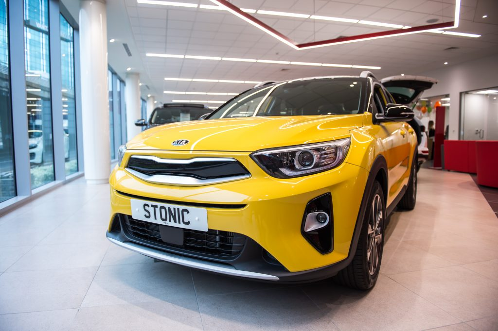 All-New Kia Stonic and the Daddy Day Car initiative
