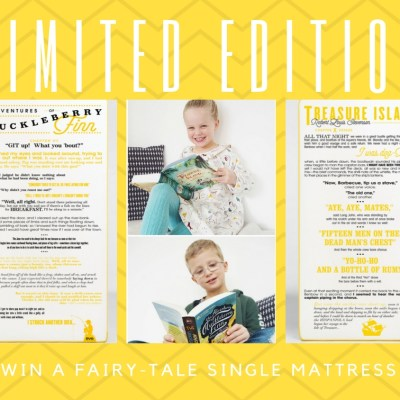 Limited Edition Fairy-Tale Eve Sleep Single Mattress Giveaway