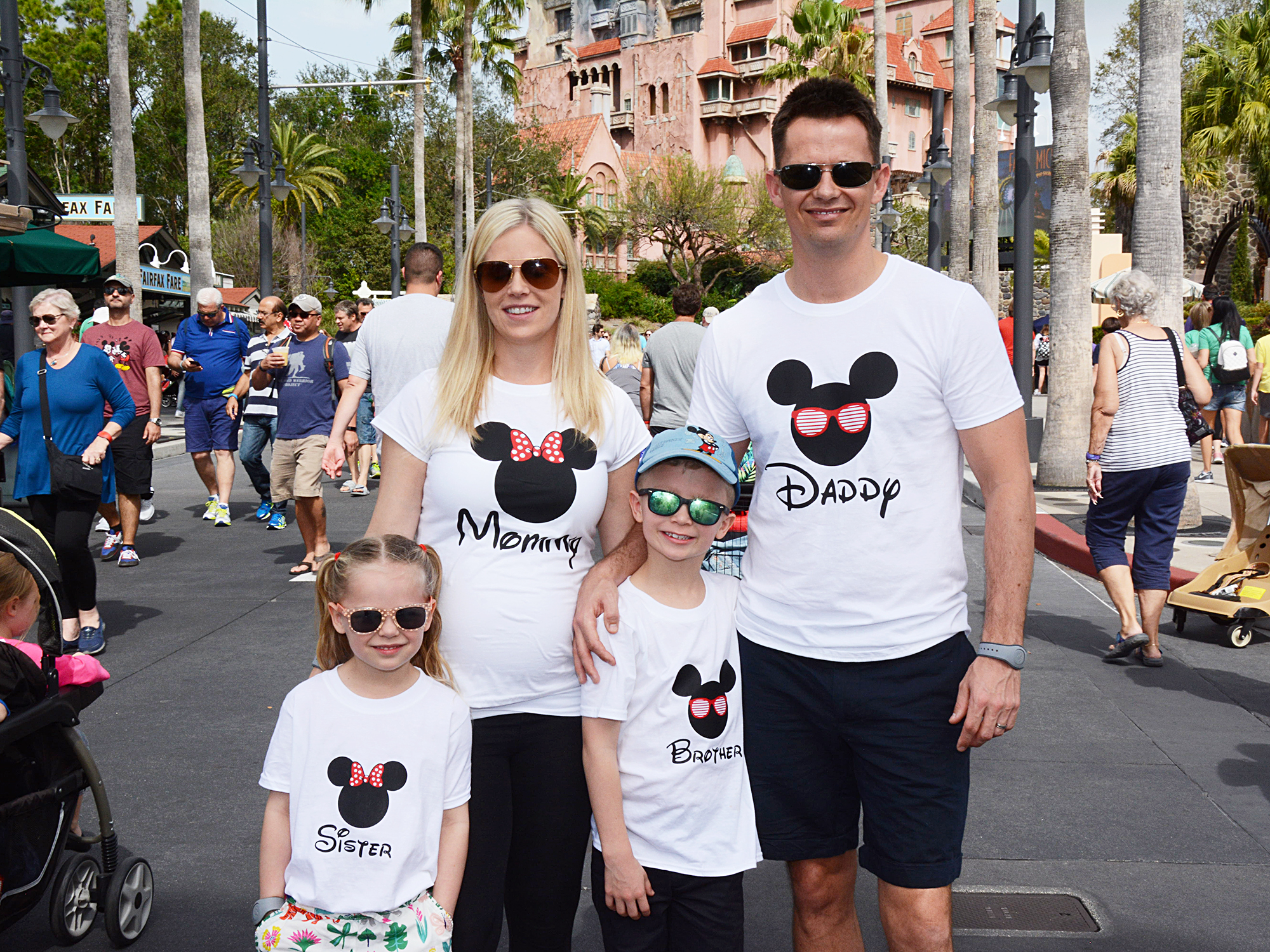 Hollywood Studios family photos