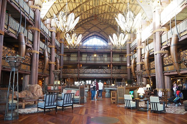 Walt Disney World's Animal Kingdom Lodge Hotel