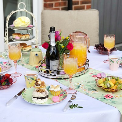 Styling a Garden Afternoon Tea Baby Shower