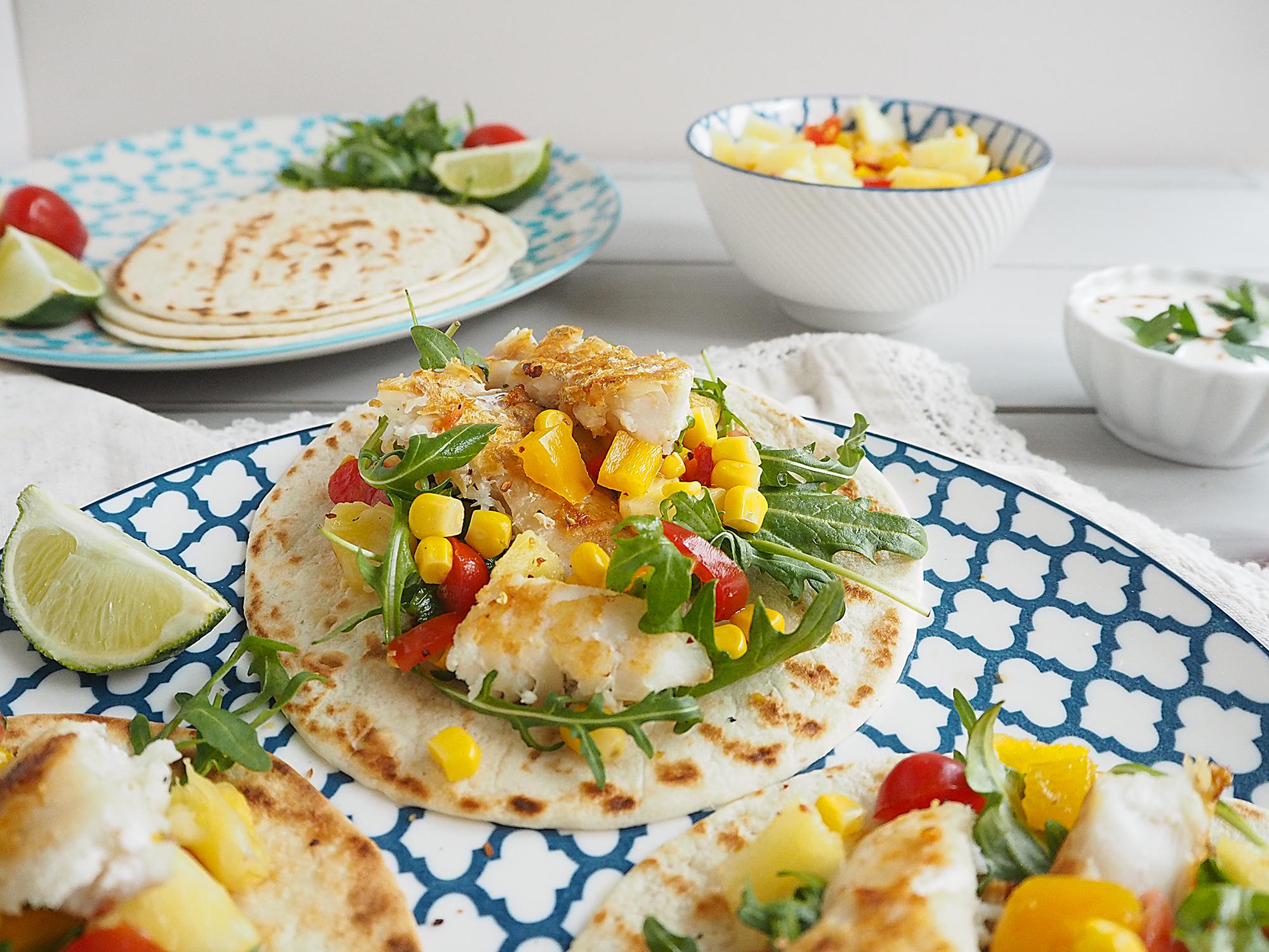 Fish Tacos with Pineapple Salsa family recipes main dish