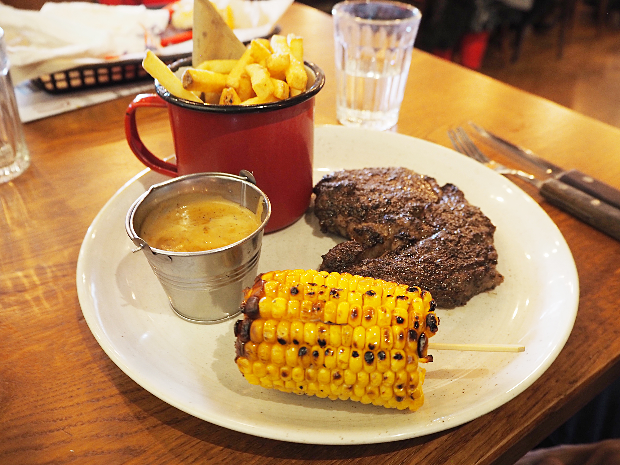 Hickory's Steakhouse Southport American food family restaurant review
