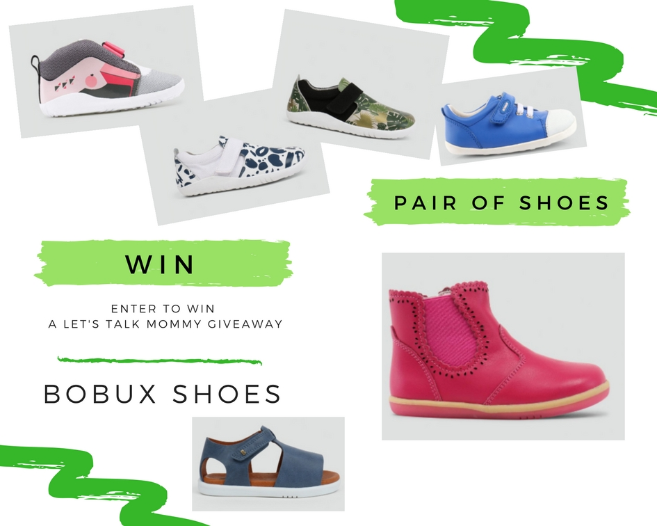 Win a pair of Bobux Shoes of your choice any style any size review