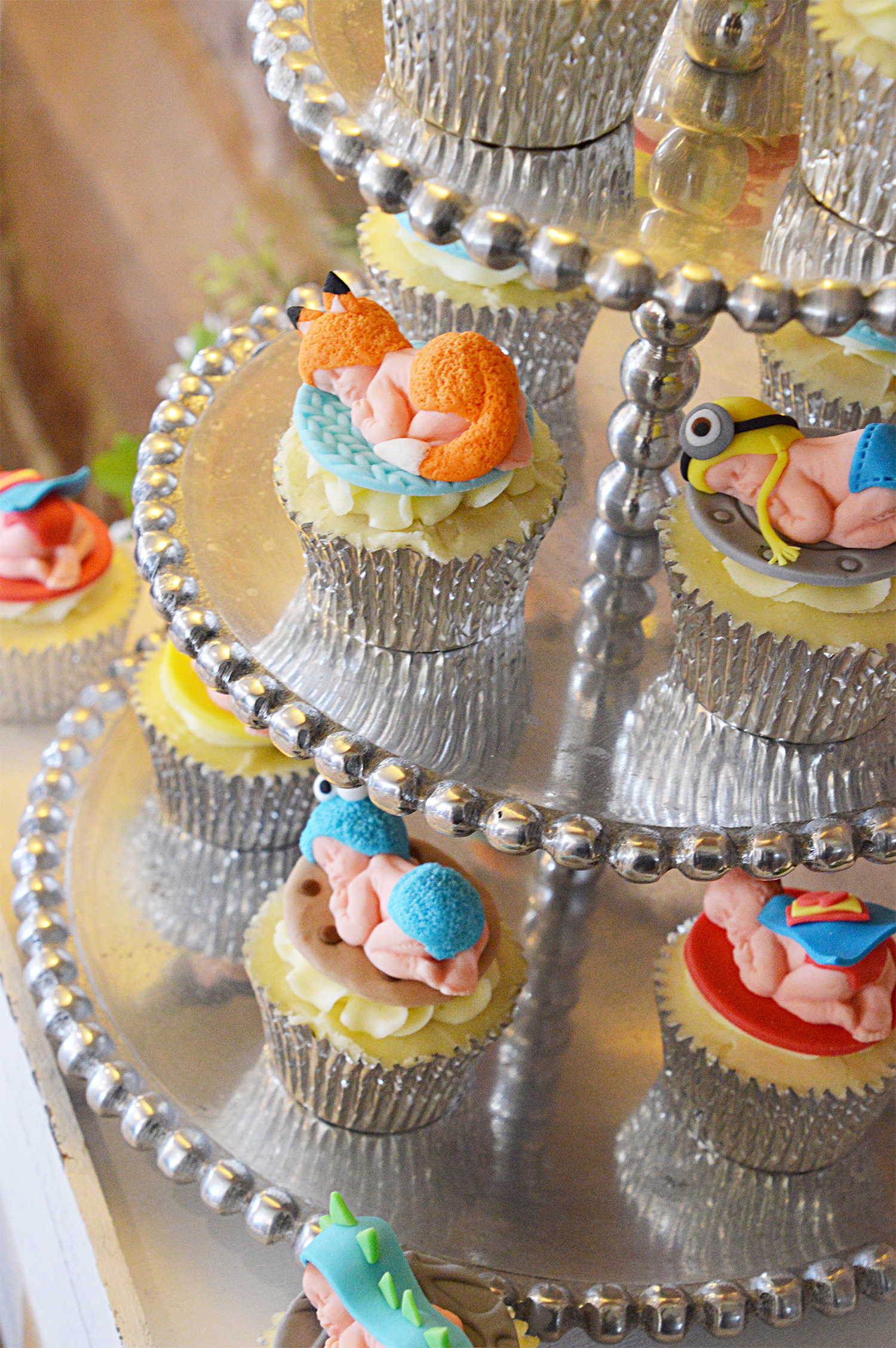 Baby Cupcakes Vanilla Iced Cakes Chorley Baby Shower Beeston Manor Events