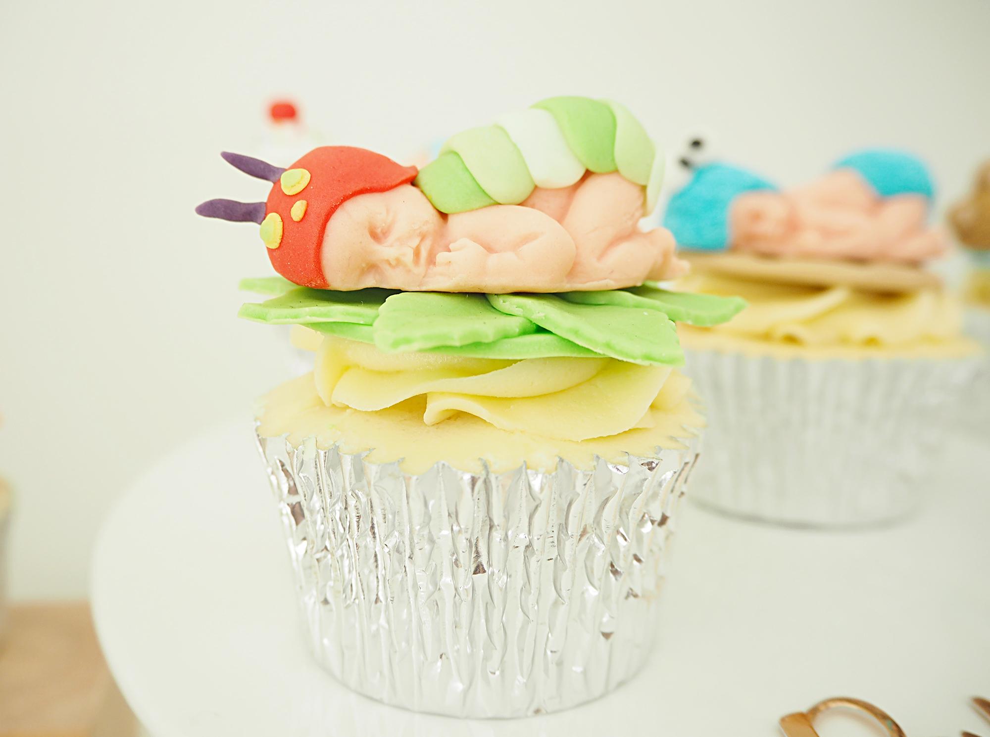 Baby Cupcakes Vanilla Iced Cakes Chorley Baby Shower Beeston Manor Events