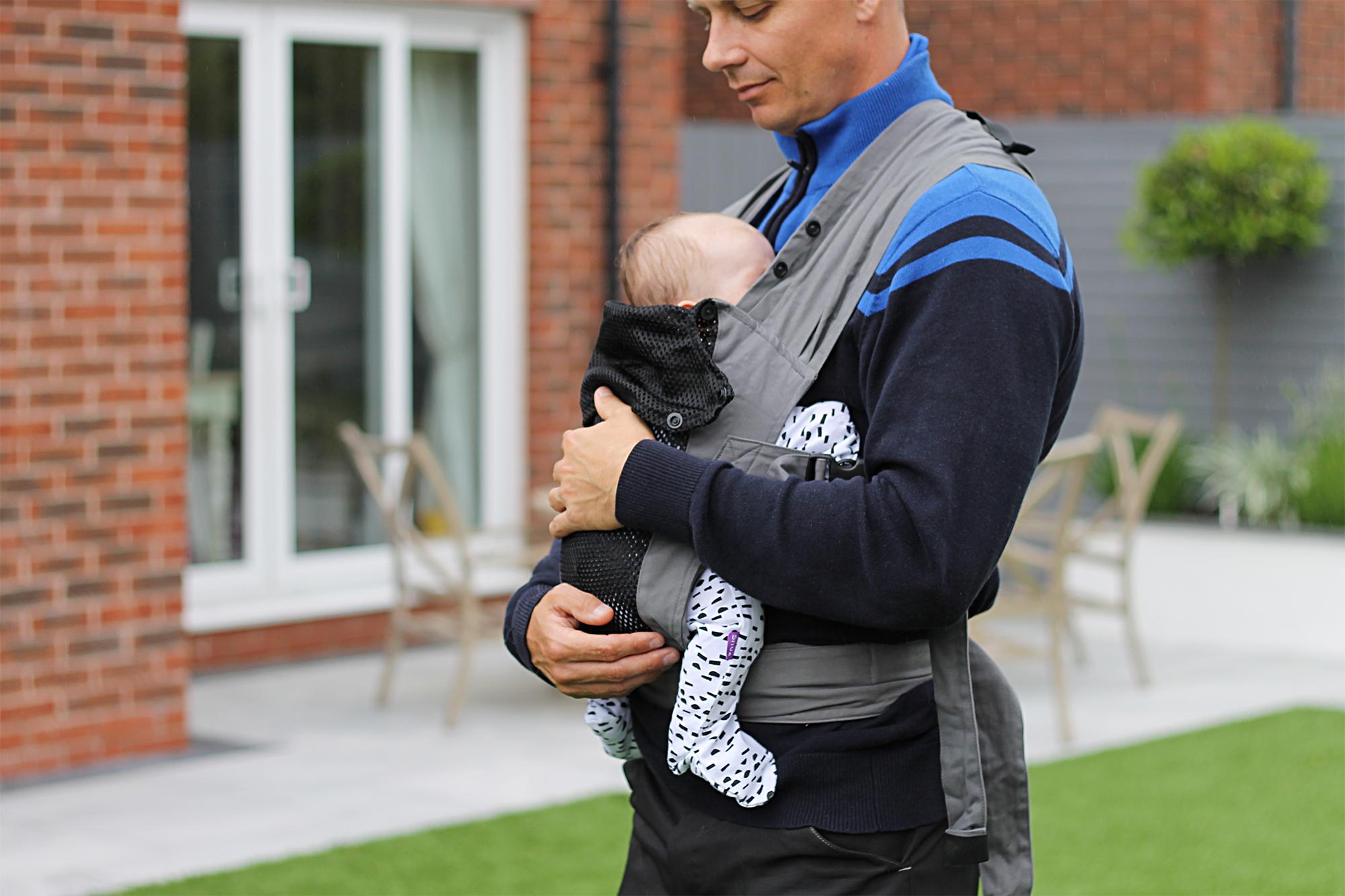 Izmi Baby Carriers Baby Wrap newborn baby