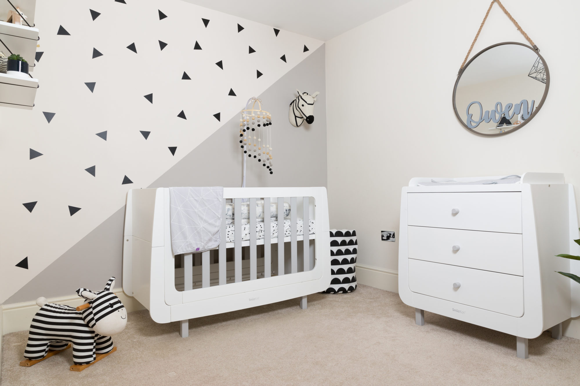 A Baby Nursery Room Tour Featuring Snuz - Lets Talk Mommy