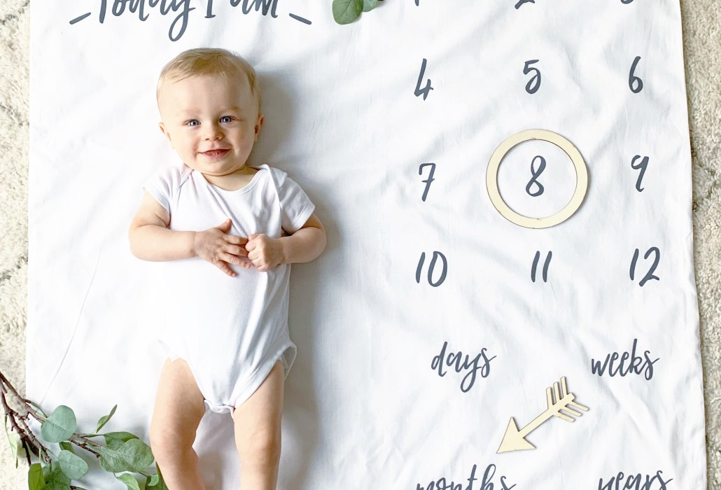 Baby Boy is 8 Months Old