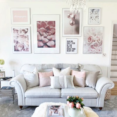 ROOM TOUR: New living room design featuring Desenio