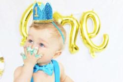 1st birthday cake smashing party