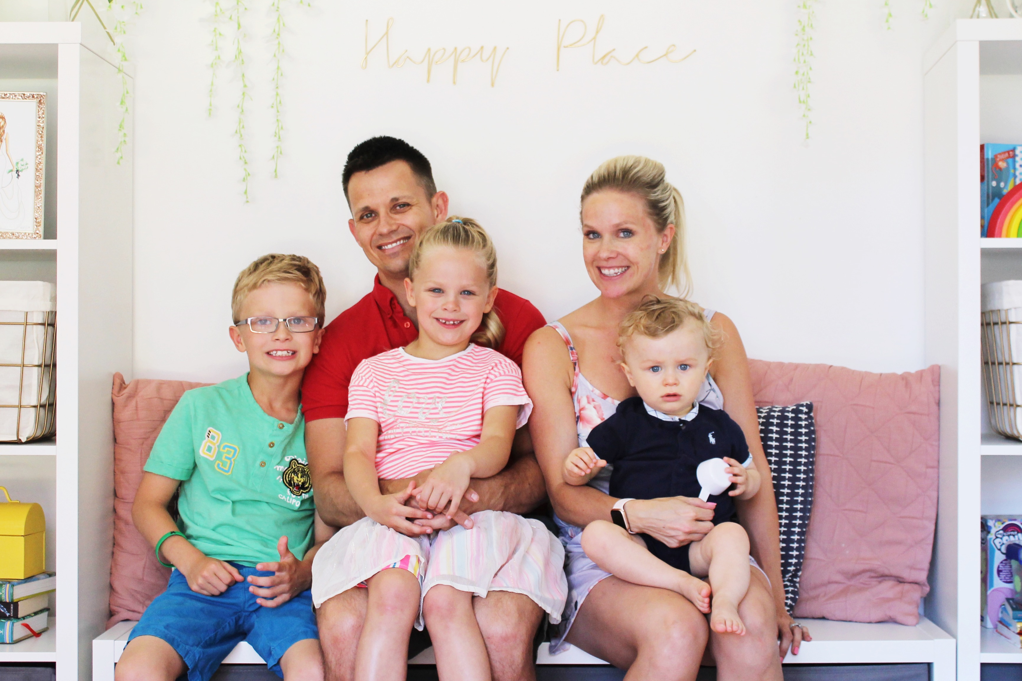 My family of five in june