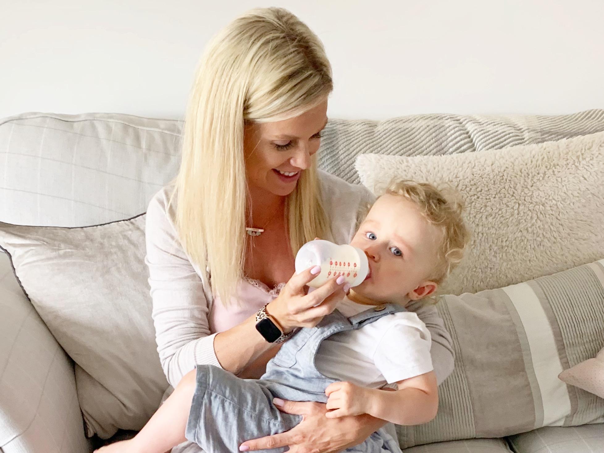 Minbie Bottle Feeding System Breastfeeding Bottle feeding