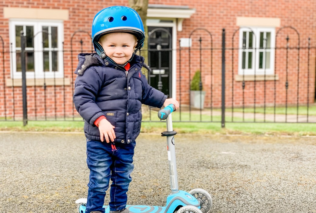 SmarTrike T1 Scooter: Toddler's first Scooter