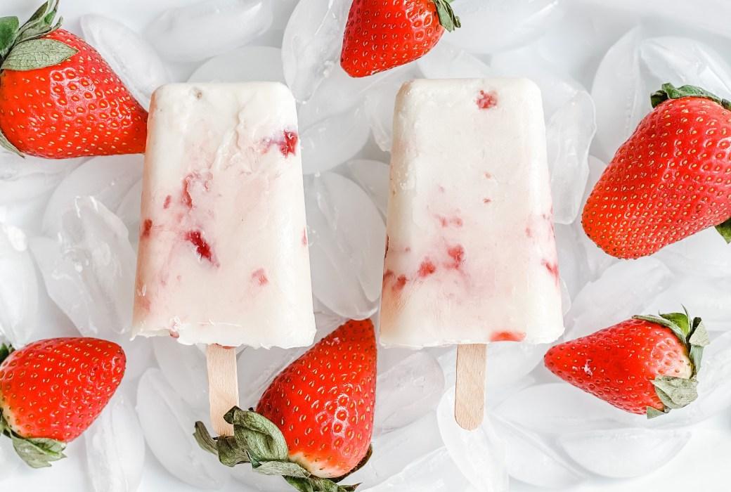 Yogurt & Jam Ice Lollies Recipe
