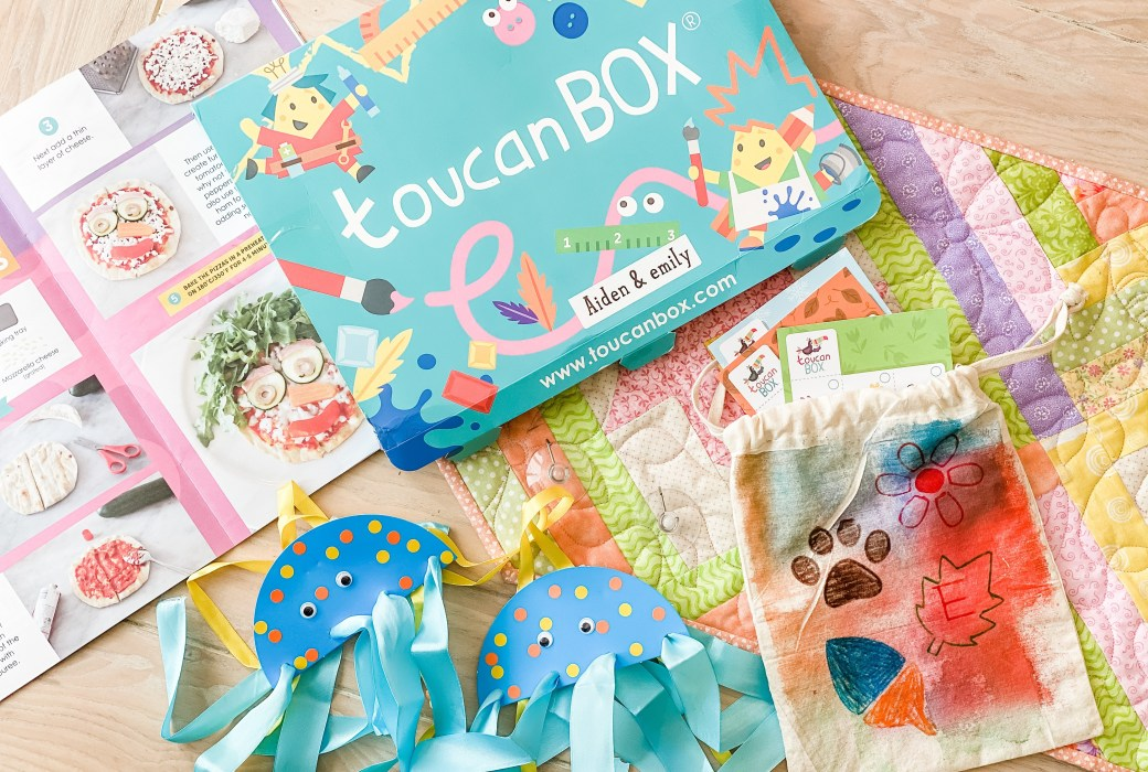 Kids Crafting & Learning with A toucanBox (discount code)