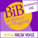 NOMINATE ME BiB 2014 FRESH VOICE