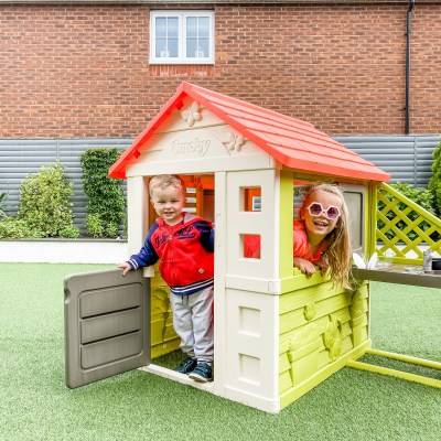 Nature Playhouse + Kitchen by Smoby Review