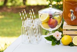 how to plan a garden party