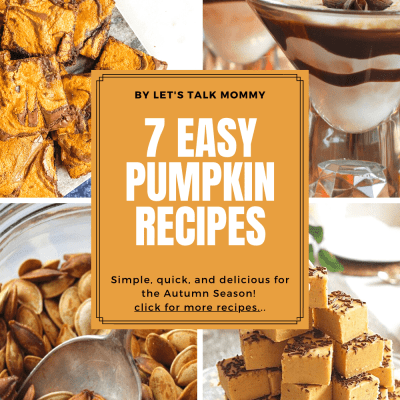 7 Easy Pumpkin Recipes