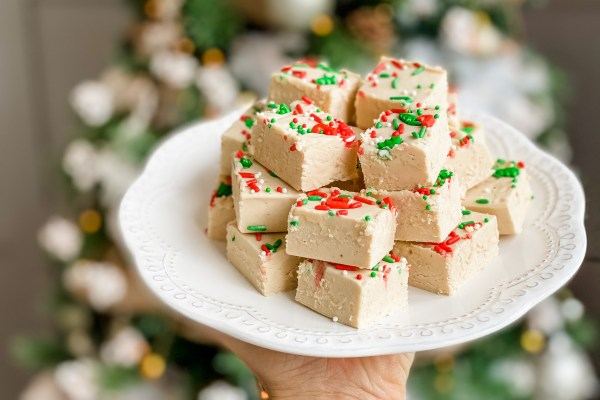 Peppermint White Chocolate Fudge Recipe