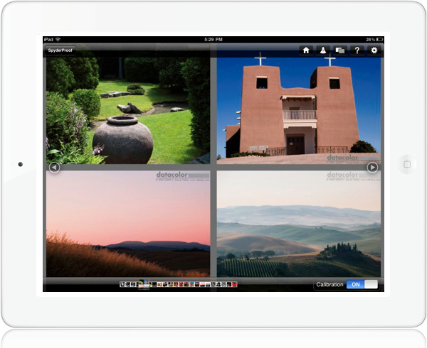 SpyderGallery photo gallery viewer for iPad