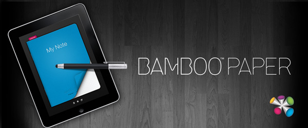 Bamboo Paper note taking app for iPad