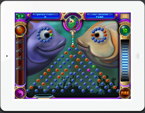 Peggle HD game for iPad