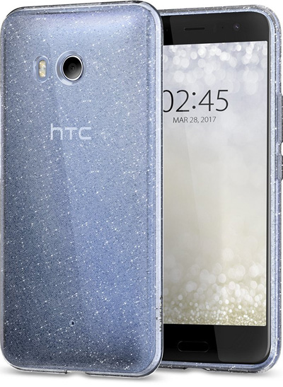 Spigen Liquid Crystal Glitter HTC U11 Case